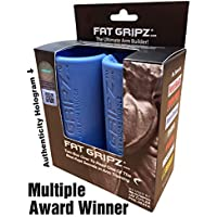 "Fat Gripz - The Ultimate Arm Builder (2.25"" Diameter, Most Popular, Original, Blue)"