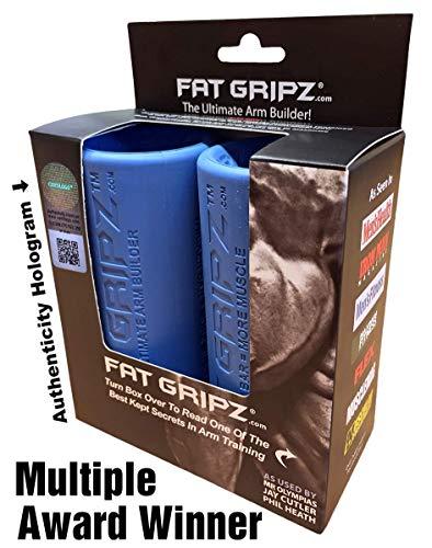 Fat Gripz Original Hantelgriffe (5,7 cm Durchmesser, Blau, BestSeller)