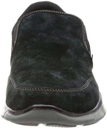 Skechers EqualizerMind Game Herren Sneakers, Schwarz (Black), 45 EU - 4
