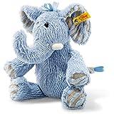 Steiff 064869 Soft Cuddly Friends Earz Elefant Plüsch blau 30 CM