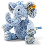 Steiff Soft Cuddly Friends Earz Elefant Kuscheltier, blau, 30 cm