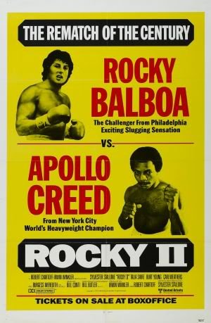 ROCKY 2 - SYLVESTER STALLONE – Imported Movie Wall Poster