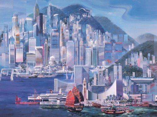 PUZZLE 1000 PIEZAS HONG KONG