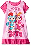 Fingerlings Girls' Big Nightgown, Pinky Pals, 10