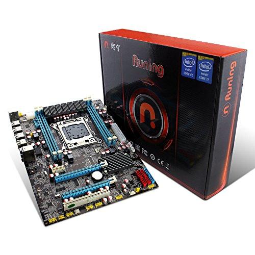 Toplevel Intel X79 LGA2011 Motherboard Mainboard Chipsatz Intel X79, Providing 4 x 16GB Quad-Channel Dimm DDR3(1600) Slots Total Support 64GB RAM, USB3.0, SATA3.0 - ATX