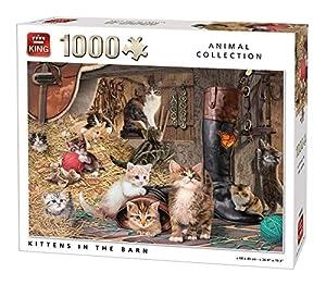 King 5700 - Puzzle de Gatitos en la bocina