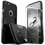 Best Sahara Case Iphone 6 Plus Tempered Glasses - iPhone 6 Plus Case, Black With [Tempered Glass Review