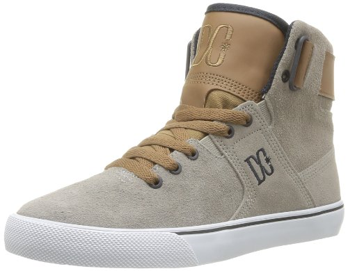 DC Shoes Graduate Le J, Chaussures montantes femme Gris/Marron (Tan)