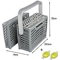 Universal–Cubertero para lavavajillas con diseño desmontable + 2ambientadores