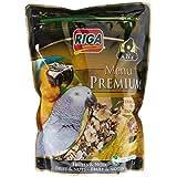 Riga (petfood) Menu Premium Perroquets Fruits et Noix Doypack de 800 g - Lot de 3