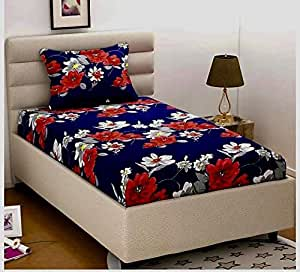 Pridhi Cotton 140TC Bedsheet (Standard_Multicolour)