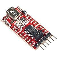 Muzoct 3,3 V 5,5 V Ft232rl FTDI USB a TTL Módulo Adaptador Serie para Arduino Mini Puerto