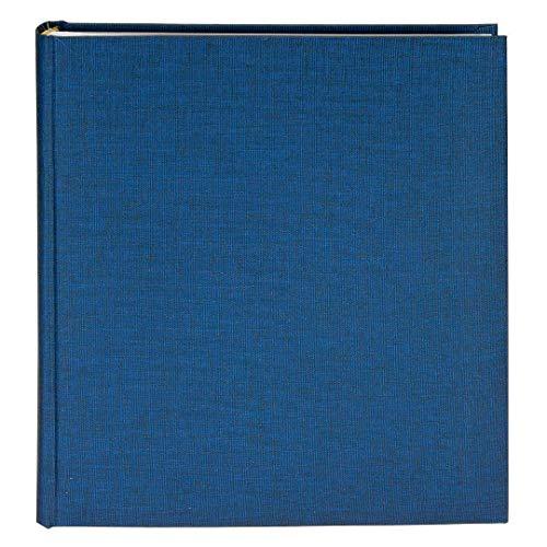 Goldbuch Fotoalbum, Summertime, 30 x 31 cm, 100 weiße Seiten mit Pergamin-Trennblättern, Leinen, Blau, 31708 -