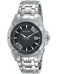 (CERTIFIED REFURBISHED) Bulova Classic Analog Grey Dial Men's Watch - 96B169