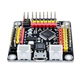 Diymore Atmega328P ATMEGA16U2 DM Fort Mini UNO R3 Module de développement de microcontrôleur Module Compatible avec Arduino UNO R3 Micro USB