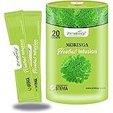 Zindagi Moringa Herbal Infusion - Sugar-free Health Drink - Infusion Tea Sachets (Pack Of 1- 20 Sachets)