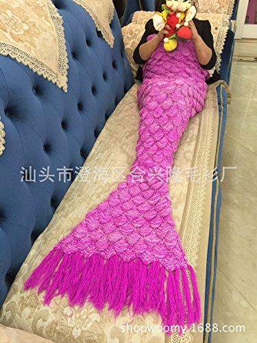 CLG-FLY Coperte lana coperta lavorata a maglia