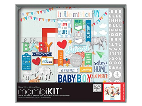 Unbekannt Me and My Big Ideas Me and My Big Ideas Boxed Album Kit 12x 12-inch-Cool Baby Boy