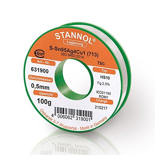 stannol-lotdraht-typ-hs10-legierung-tsc-sn955ag38cu07-05-mm-100-g-spule-1-stuck-631900