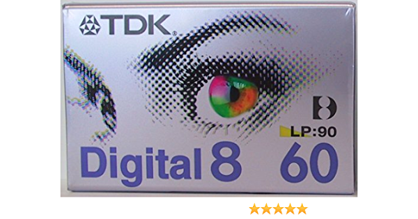 Tdk D 8 90 Ea Digital8 Videocassette Kamera