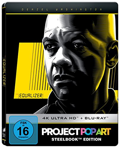 The Equalizer (SteelBook PopArt) [Blu-ray] - David Harbour
