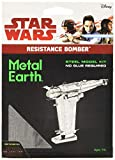 Star Wars The Last Jedi Metal Earth Resistance Bomber Space Ship Metal Model Kit - Brand New Factory Sealed