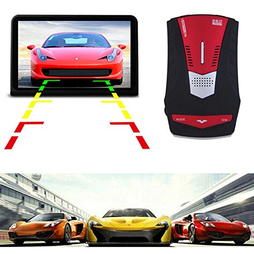 Preisvergleich Produktbild Darpy (TM) 2015 New Car Merveille V6 LED Display Anti Radar Elektronische Dog Englisch/Russisch Auto Speed Testen System Hot Sale
