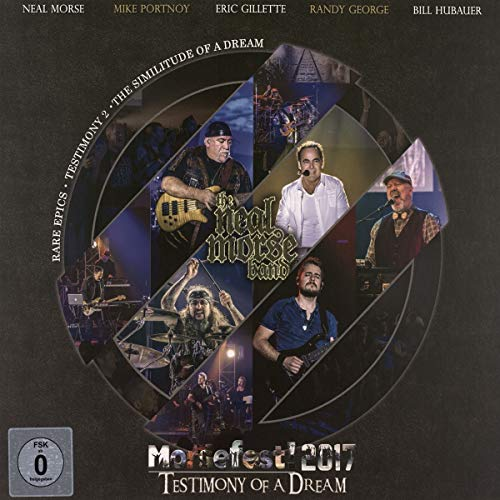Morsefest 2017: the Testimony of a Dream (2BD/2DVD/4CD) Artbook
