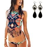 Sitengle Damen Bikini Sets Multicolour Push up Paisley Bademode Badeanzug Bathing Suit Ethnischen Tauchanzug hot Bikini