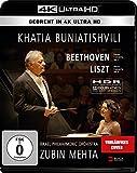 Khatia Buniatishvili & Zubin Mehta: Liszt & Beethoven (4K UHD) - Blu-ray