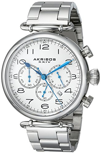 Akribos XXIV Men's AK764SS Grandiose Stainless Steel Bracelet Watch