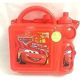 K&M World 95Cars Kids School Lunch Box Water Bottle Combo Set/Gift Pack/Birthday Gift For Kids/Return Gift/Gift Set For Kids/Boys Gift Pack
