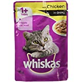 Whiskas Wet Meal Adult Cat Food, Chicken In Gravy, 85 G (Pack Of 6)