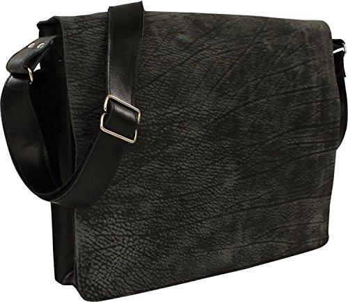 Harold & # 039; s Vecchio classiche Messenger Bag, 1 nero (nero) - 3613271 1 nero