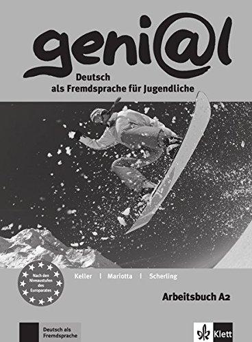 geni@l a2, libro de ejercicios por Susy Keller