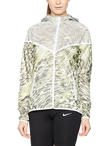 Nike Tech Hyperfuse Windrunner Veste à Capuche XS Lime/weiß