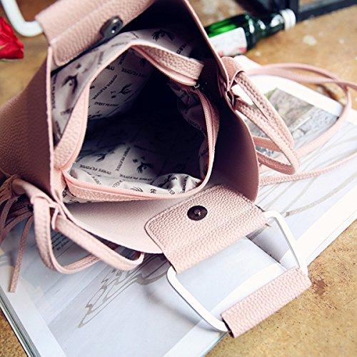 Borsa Del Messaggero Femminile Della Borsa Di Flusso Del Sacchetto Di Spalla Delle Nuove Borse Di Modo Del Sacchetto Di Spalla Di Tendenza Pink