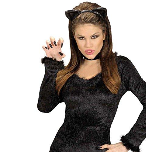 Katzen Haarreif Katzenohren Kopfbügel schwarz Katze Ohren Haarreifen Kostüm Zubehör - Nette Katze Ohren Kostüm