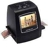 22MP Virtuoso Film & Slide Scanner con PhotoPad Software - Convertire 35mm, 110, 126, e Super 8 Film a digitale immagine