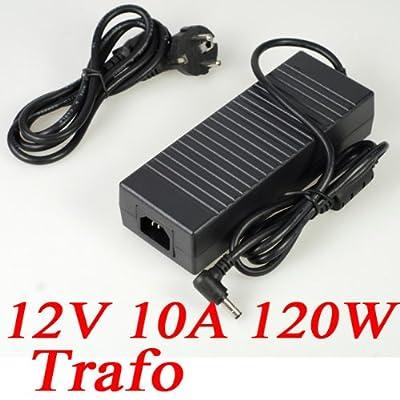 12V 10A 120W Netzteil AC Adapter Trafo für LED SMD RGB Strips von longskft bei Lampenhans.de