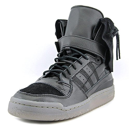 adidas Men's Forum Hi Moc Cblack/Cblack/Clay Casual Shoe 10 Men US