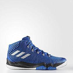 Adidas Crazy Hustle, Zapatillas de Baloncesto para Hombre, (Reauni/Plamet/Azul 000), 44 EU