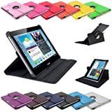Generic 610098485469Étui 360Degree Étui en cuir pour Samsung Galaxy Tab 210.1P5100P5110avec fonction support verticale/horizontale Rose