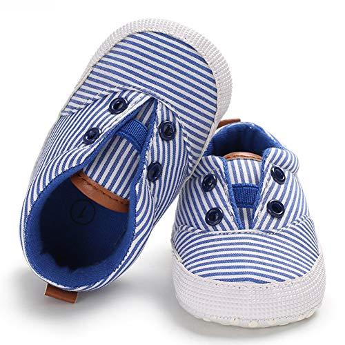 Babycute Kleinkind Schuhe Baby Junge Mädchen Weiche Sohle Leinwand Sneaker -