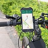Handyhalterung Fahrrad TaoTronics Fahrradhalterung Handyhalterung Motorrad Halter 3facher Sicherheitschutz für Smartphones und GPS - 2