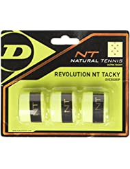 Dunlop over Grip Revolution NT Tacky 3unidades, amarillo, One size, 307088