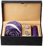 Tossido Men's Synthetic Tie Set (PNTS12_...