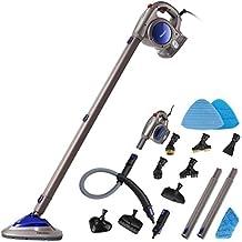 Neatec EUM18P Scopa a Vapore e Pulitore a Vapore Portatile Elettrico Multifunzione Professionale, Lavapavimenti a Vapore con Accessori(Viola)