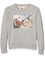 Unbekannt Jungen Sweatshirt C-Neck Sweater Skater