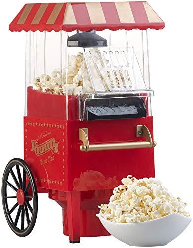 Rosenstein & Söhne - Heißluft Popcornmaschine - Retro